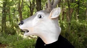 goat head halloween mask deer deluxe latex mask halloween masks trendyhalloween com