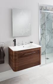 celeste american walnut bathroom furniture unit u0026 basin from