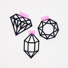 printable wax paper gems crystals printable paper gems printable paper and wax