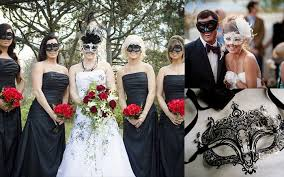 themed wedding ideas dramatic masquerade themed wedding ideas
