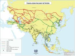 Map Of Russia And China by Russia And China Are Making True High Speed Cargo Trains For 2 Day