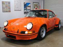 1973 porsche rs for sale 1973 porsche 911 rsr gulf orange tribute built in germany cold a c