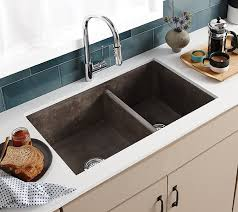 Farmhouse Double Bowl Concrete Kitchen Sink Native Trails - Bowl kitchen sink