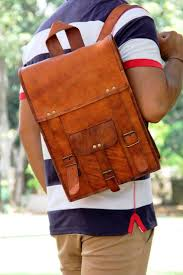 12 best leather bags bagpacks sling bags images on pinterest