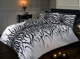zebra print duvet cover sweetgalas
