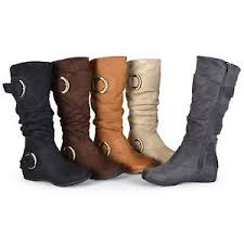 womens boots wide calf sale journee collection womens wide and wide calf slouch buckle
