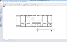 Draw A Floorplan To Scale Importing And Scaling Reference Drawings In Rhino Idda