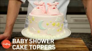 baby shower cake decorations baby shower cakes 3 tips for adorable toppers gumpaste cake