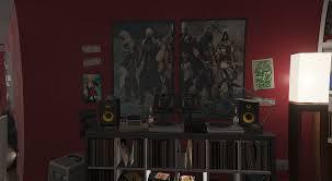 assassin u0027s creed posters for franklin u0027s house gta5 mods com