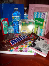 sick person care package as a survivor remembering chemo and chemo care packages