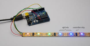 controlling led strips wirelessly