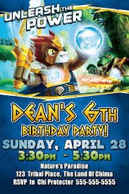 caillou birthday invitations 22 best legends of chima party ideas images on pinterest lego