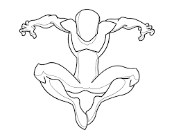 spiderman body template 01 riderb0y deviantart