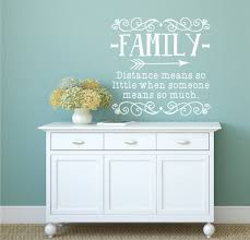 distance means so family distance family wall decal
