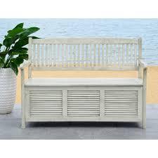 white storage benches
