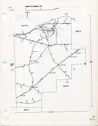 Elyria Ohio Map by Transportation Zone Maps