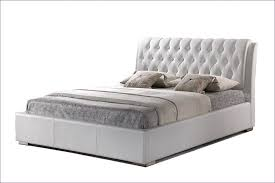 bed white upholstered headboard white twin bed frame tufted