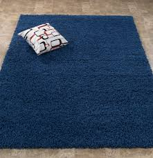 Solid Area Rugs Give An Exotic Look To Your Room With Blue Rugs