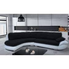 canapé chloé design design canapé d angle regal noir et blanc angle gauche