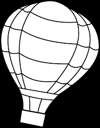popular air balloon coloring pages best co 7584 unknown