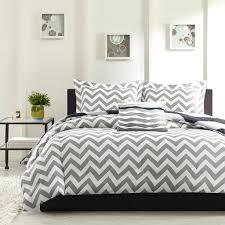 White Gray Comforter Bedding Design Stupendous Gray Striped Bedding Bedroom Furniture