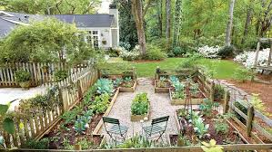 Firepit Garden Yard With A Veggie Bed Chicken Coop And Pit You Bet