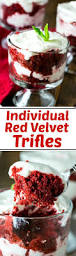 individual red velvet trifles spicy southern kitchen