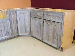 Grey Oak Kitchen Cabinets Weathered Gray Barn Wood Kitchen U2014 Barn Wood Furniture Rustic
