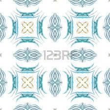 blue kaleidoscope wallpaper seamless kaleidoscope texture or pattern in blue and green 2 stock