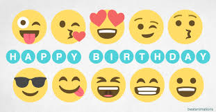 happy birthday emoji gif cards to share with friends