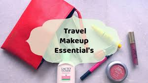 travel makeup kit essentials my travel kit guide check what i
