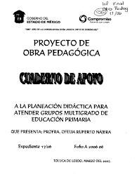 Calaméo Cuaderno de apoyo a la planeaci³n didáctica para atender