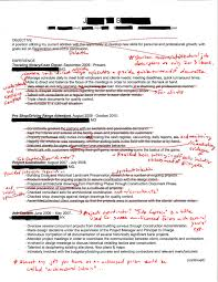 resume objectives for internships intern 101 redlined resumes cut it in half and you re there intern 101