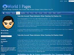 world i pages blog view take into account these indicators