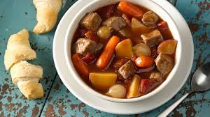 slow cooked family favorite beef stew recipe pillsbury com
