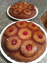 pineapple upside down cake half cup butter melted 1 cup packed