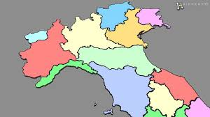 Italy Regions Map by As 3d Map Italy With All Regions Shape Planispehere 3d Model