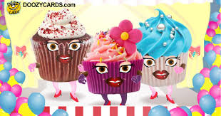cupcake birthday ecard singing birthday e cards