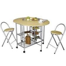 tables de cuisine pliantes table de cuisine pliable avec 2 tabourets achat vente table de