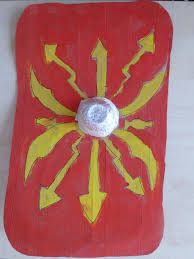 ideas for ks2 roman project kids roman shield with foil bowl for boss google search ancient