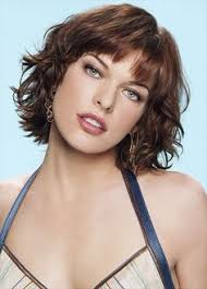 short hairstyles short hairstyles with curls with bangs images