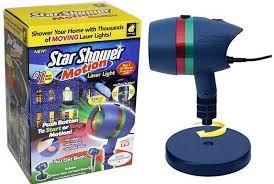 motion laser light projector 19 98 reg 50 star shower holiday laser light projector