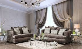 Silver Living Room by Maisie Silver Living Room Set From Furniture Of America Coleman