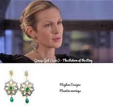 gossip girl earrings meghna jewels fiercely gorgeous unique