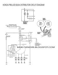 diy fix on your own honda prelude b20a distributor circuit diagram