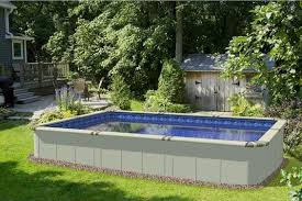 Backyard Pool Sizes by Selecting The Right Above Ground Pool Size And Location Pc Pools