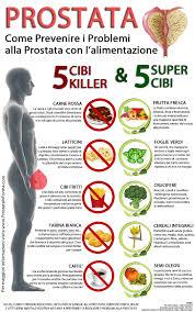 alimenti prostata dieta per la prostata i cibi dannosi e quelli benefici per la