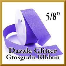 glitter ribbon wholesale wholesale dazzle glitter grosgrain ribbon 5 8 inch width by the roll