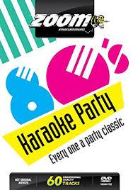 zoom karaoke dvd eighties karaoke 80 s 60 songs