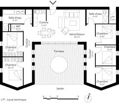 plan maison plain pied 5 chambres plan maison plain pied avec 5 chambres ooreka
